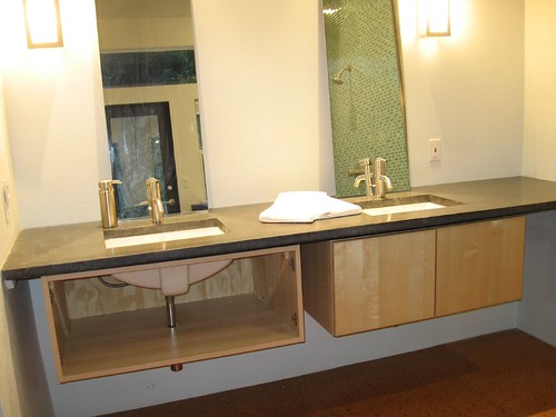 They Did Their Own Concrete Countertops And Utilized Ikea Cabinets Very  Very Cool, More Pics After The Jump.