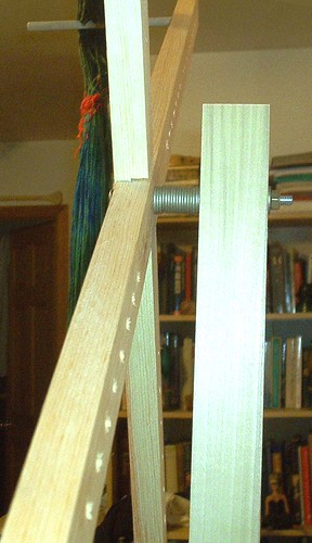 Yarn Swift Made by Hubby - Detail