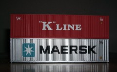 """K"" Line and  Maersk Shipping Containers (Stuart Axe) Tags: macro boat marine box container evergreen cast maritime po sealand containership hyundai freight boxs yangming reefer msc hanjin shippingcontainer kline freighttrain hapaglloyd cosco maersk intermodal doublestack nedlloyd chinashipping uniglory bigmetalbox ponedlloyd shippingcontainership unlimitedphotos columbusline"