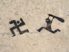 No nazi (the bbp) Tags: portugal politics coimbra politica pavimento supershot thebbp nonazi