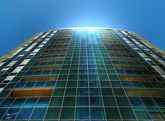 Segle XXI (Paco CT) Tags: barcelona building glass architecture spain arquitectura edificio catalunya cristal hdr 2007 terrassa 3xp ltytr2 ltytr1 ltytr3 ltytr4 pacoct unviernesporbarcelona seglexxi