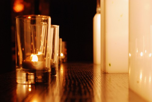 W Hotel Candles