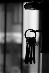 Freedom ? (Midhun Manmadhan) Tags: door bw keys freedom blackwhite mywinners