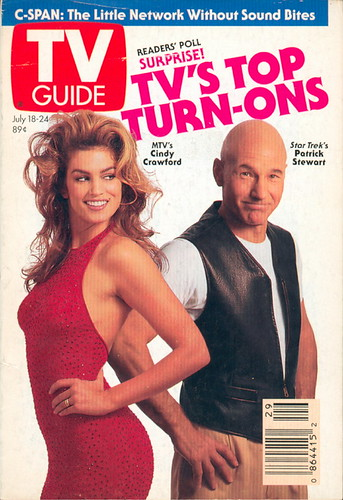 Tv Guia Cindy Crawford Patrick Stewart