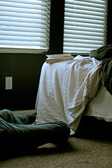 Lazy Days (chris metzger) Tags: bed days sheets lazy
