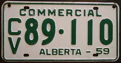ALBERTA 1959 COMMERCIAL VEHICLE (woody1778a) Tags: world auto signs canada history cars car sign vintage edmonton photos antique tag woody plate tags licenseplate collection number photographs alberta 1950s license plates foreign oddball numberplate licenseplates numberplates licenses rarity cartag carplate carplates commercialvehicle autotags cartags autotag foreigns alpca pl8s worldplates worldplate foreignplates platetag albertahistory albertaplates