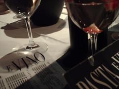 Celebración Titulación (L!cHA !) Tags: de restaurant valparaíso naranja con celebración habas frutillas ravioles champaña pastaevino reduccion