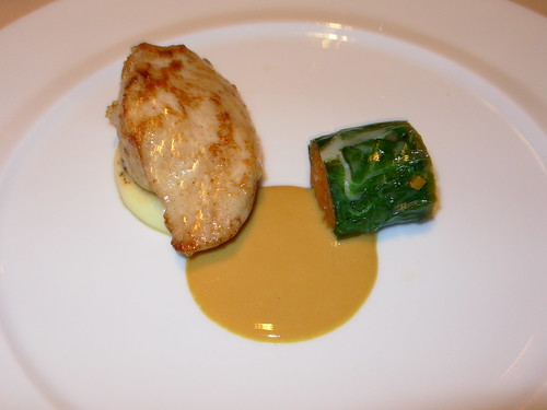 Washington Food - Poussin with Pistachio Mousse Cityzen