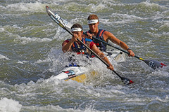 Dusi (Canoer's Stott and Thomson) (Bill Davies (SA)) Tags: water race southafrica row oar dusi