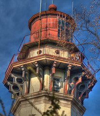 Staten Island Range Lighthouse (_Robert C_) Tags: nyc lighthouse d50 lens searchthebest prism sigma fresnel lantern statenisland hdr octagon richmondhill 70300 photomatix tonemapping anawesomeshot lighthousetrek ambrosechannelrangelight robertcatalano