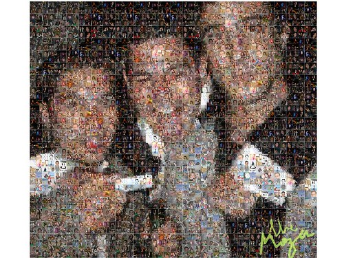 Mozer facebook application makes mosaic