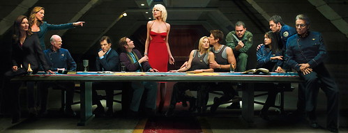 Battlestar Galactica Last supper (by kidddrunkadelic14)