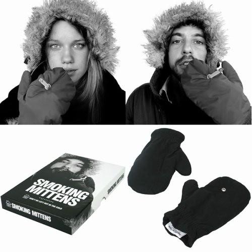 Manoplas para fumadores