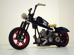 bikesbobber00 (Lino M) Tags: seattle hot bike lego retro motorcycle hotrod rod custom martins lino bobber
