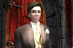 Cal before the wedding (Tragix Wilder) Tags: wedding 3d secondlife