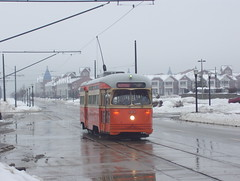 4615 in the snow (streetcarbrad) Tags: kenosha pcc streetcars 4615