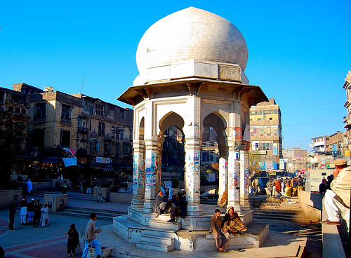 Chowk Yadgar, Peshawar Old City, Pakistan