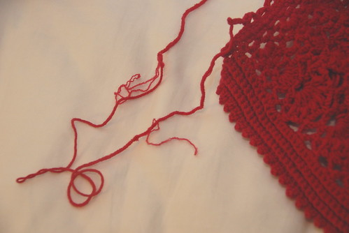 Red Capelet, Classic Elite Classic One Fifty yarn