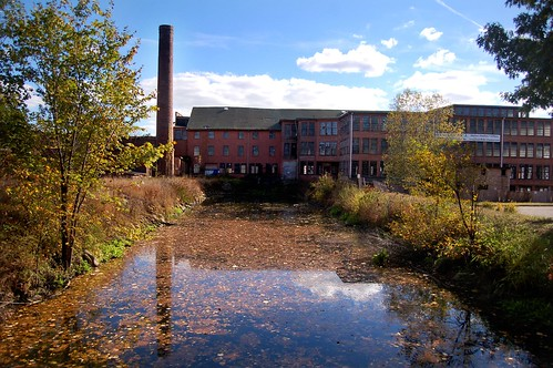 Stanley Woolen Mill and Canal
