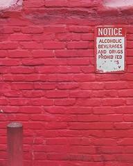 please follow directions (Darwin Bell) Tags: red green sign wall spiral superaplus aplusphoto
