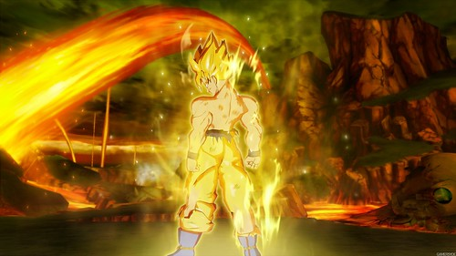 Dragon Ball Z Burst Limit Goku Saiyan