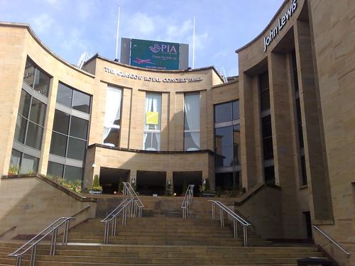The Glasgow Royal Concert Hall
