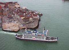 St. Cecilia from the Spinnaker (jo92photos) Tags: sea ferry port hampshire portsmouth spinnakertower iowferry stcecilia isleofwightferry ferrycrossing allrightsreserved spiceislandinn myfuji jo92 coastuk jo92photos