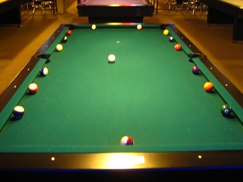 Scottish Billiards Setup