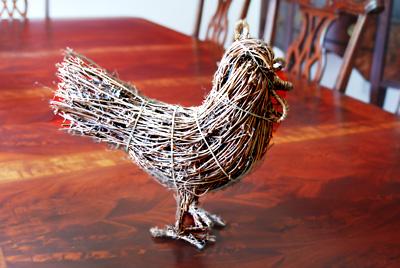 wicker chicken