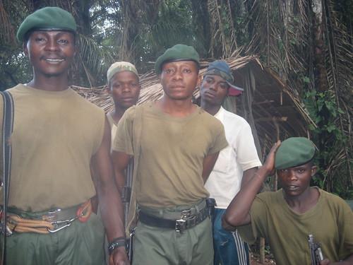 Major John's men