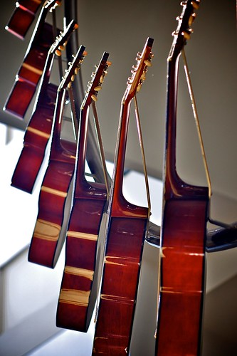 Hanging Guitar Sculpture, Wasginton DC Convention Center, Donald Lipski