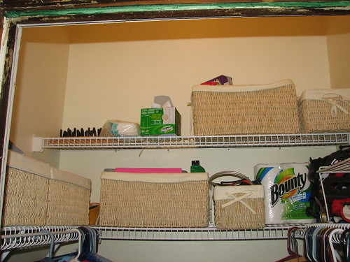 coat closet storage