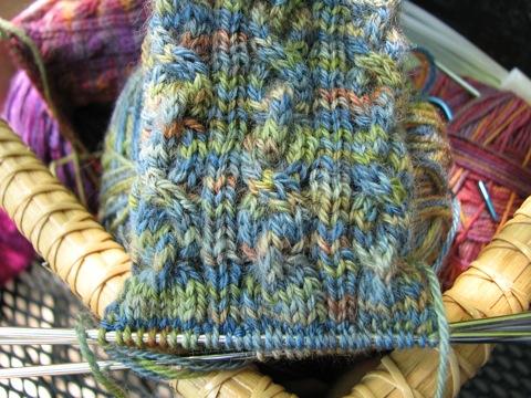 2/2/2-Sock Cuff detail