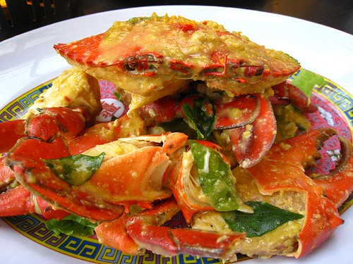 Crab with Salted Egg
