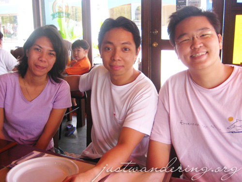 Mela, Peter and Ming at the Kanin Club