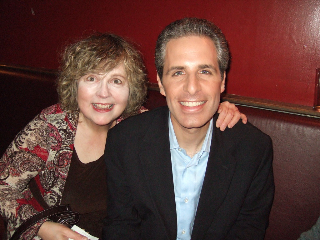 Kate Anne with author David Sirota