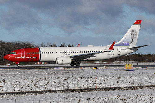 Norwegian Air UK Boeing 737-8JP(WL) G-NRWY 170223 ARN