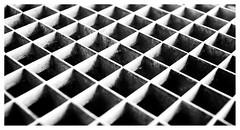 Grid (leo.roos) Tags: grid raster noiretblanc 2bladediris diamondshapediris kodakektanar4428 fixedlens kodakmotormatic35f a7rii darosa leoroos
