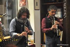 N2122903 (pierino sacchi) Tags: kammerspiel brunocerutti feliceclemente igorpoletti improvvisata jazz letture libreriacardano musica sassofono sax stranoduo