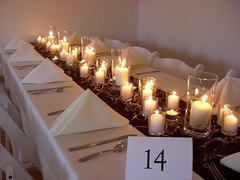 Long table candle decorations wedding (Sugar Envy) Tags: wedding cake square de cards casa fireplace candle place wine chocolate cork loco joe winery only conner fondant centerpieces deocrations candlecenterpieces joeandconnerswedding chocolatesquareweddingcake sugarenvycookies sugarenvy