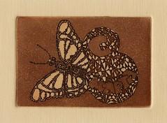 8  - 001 (tim.spb) Tags: original etching heart turtle postcard small snail crab valentine ornament owl plates proverbs desigh     fibonachi aquafortis      8