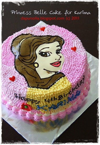 Princess Belle Cake for Karima