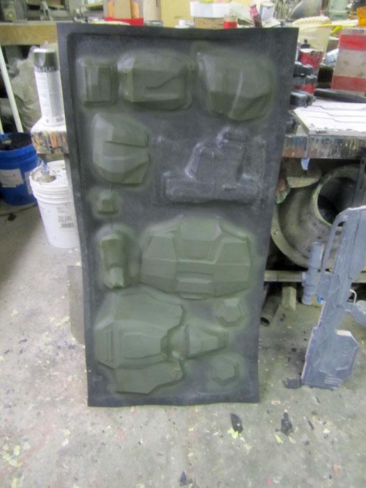 Marine kit pre painted