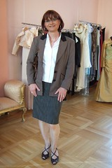 fashion atelier 2 (Marie-Christine.TV) Tags: lady tv feminine skirt tgirl business suit transvestite heels kostm mariechristine