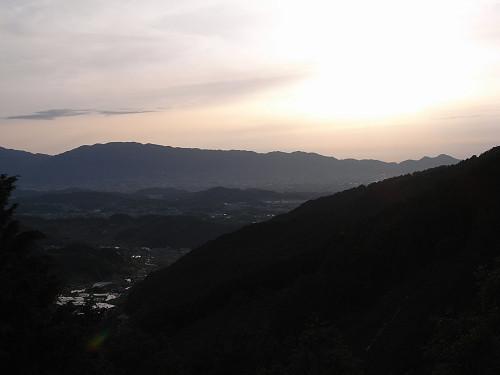 飛鳥の夕日(多武峰見瀬線)-01