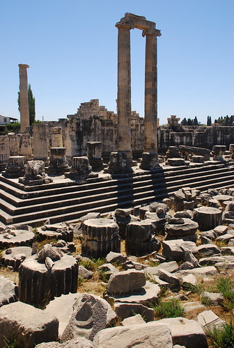 the ruins of Didyma