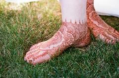 Maureen's feet