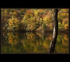 Turning Of The Leaves (szefi) Tags: autumn trees lake reflection fall nature colors landscape croatia foliage canon350d plitvice naturesfinest eow abigfave ysplix thegoldenmermaid