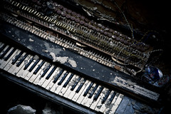 (Adrian Cordero Photography) Tags: old trash puertorico piano dirt cannon 5d adrian cordero adriancordero adriancorderophotography