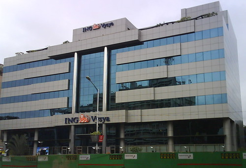ING Vysya headquarters in Bangalore.